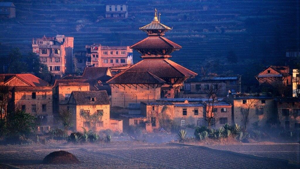 From the surrounding area of Kathmandu