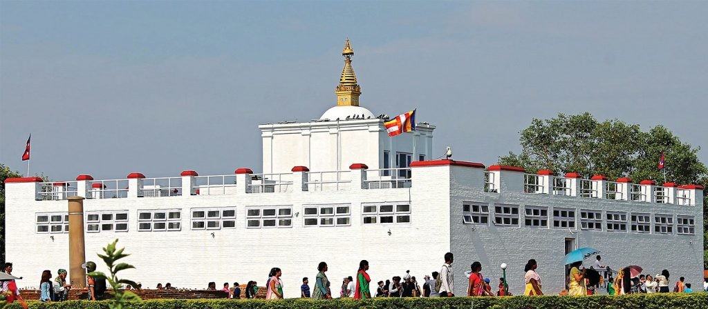 Lumbini - the birth place of Buddha