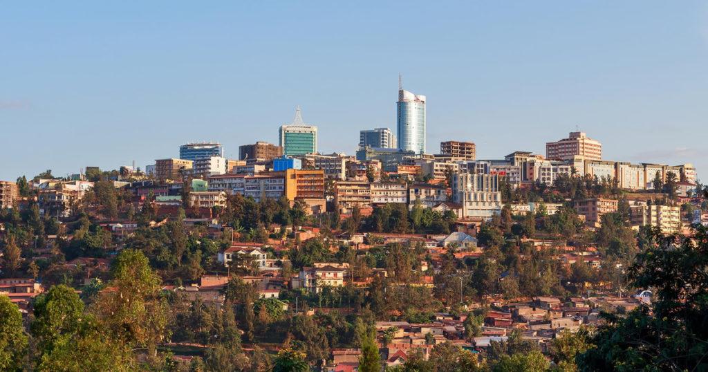 Downtown Kigali Rwanda