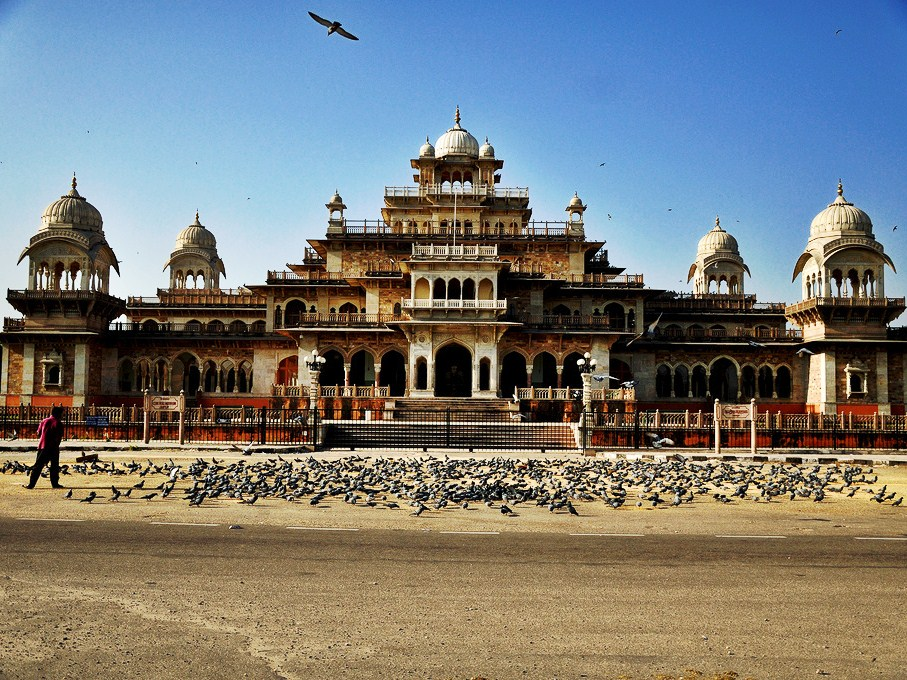 The Albert Hall Museum in Jaipur