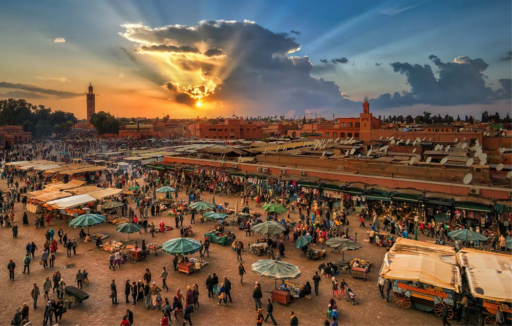 Jemaa el-Fnaa Square Marrakesh