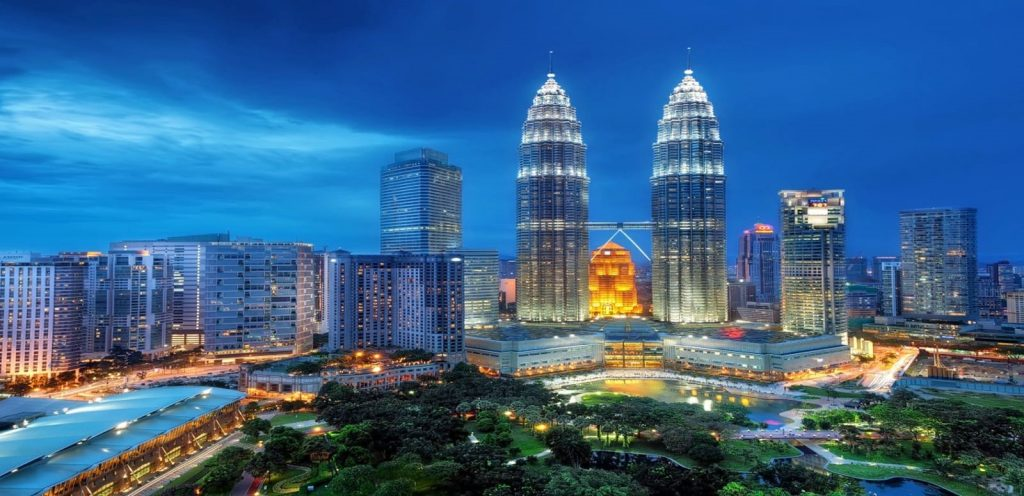 Kuala Lumpur and the Petrona Towers